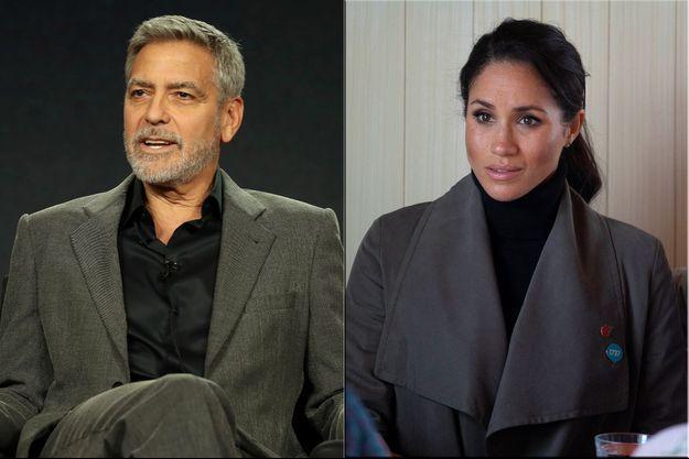George Clooney et Meghan Markle
