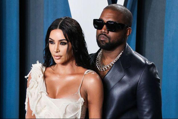 Kim Kardashian et Kanye West à Los Angeles en février 2019