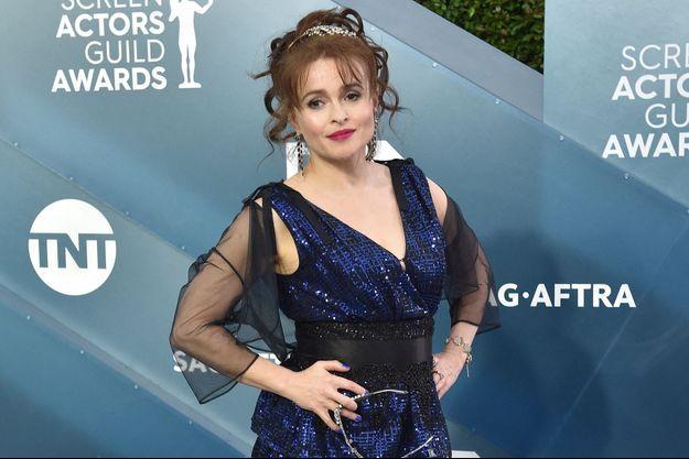 Helena Bonham Carter en Californie en janvier 2020.