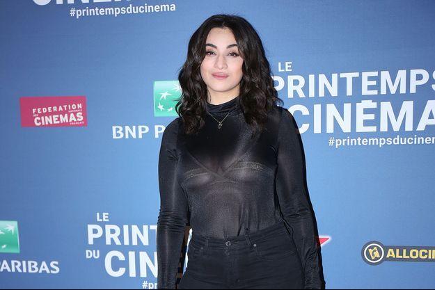 Camélia Jordana à Paris, le 17 mars 2019