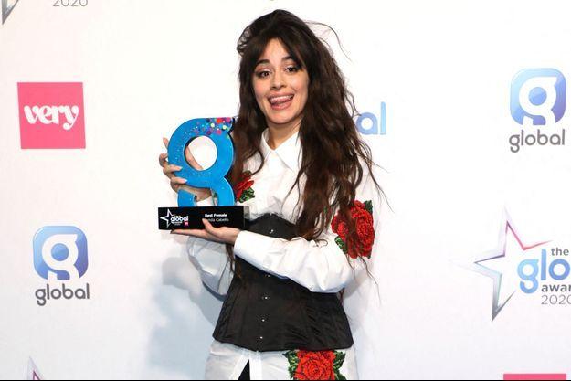 Camila Cabello à Londres en mars 2020.
