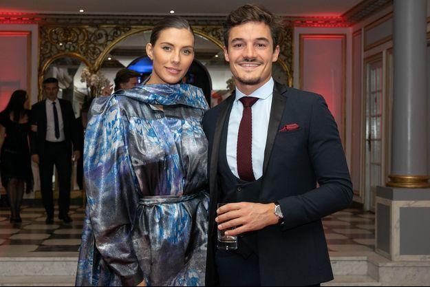 Camille Cerf et Cyrille Roty à Paris le 10 octobre 2019.