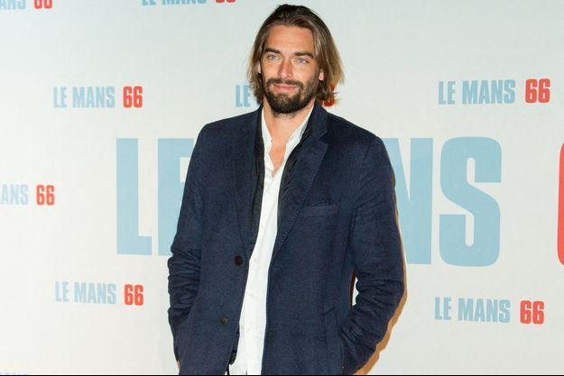 Camille Lacourt à Paris en octobre 2019.