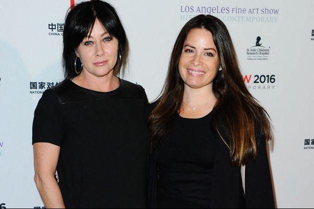 Shannen Doherty et Holly Marie Combs en 2016.