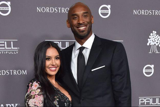 Vanessa et Kobe Bryant en novembre 2018.