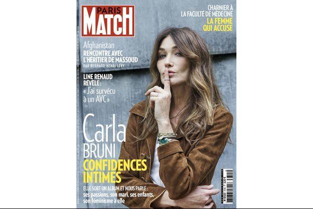 La couverture du numéro 3725 de Paris Match.