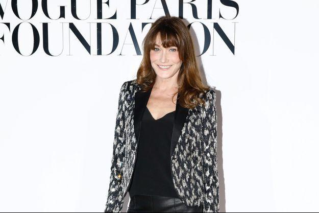 Carla Bruni à Paris, le 2 juillet 2019