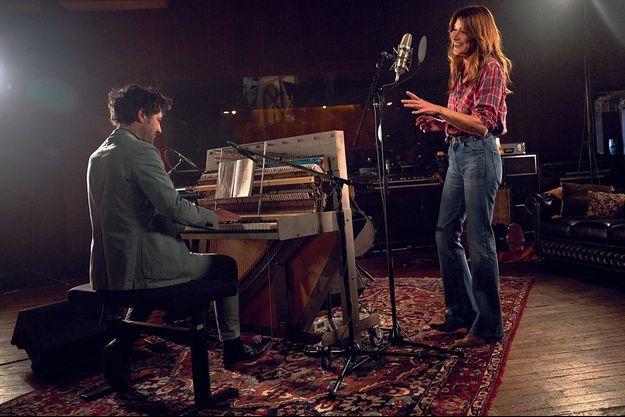 Studios Ferber, Paris. Au piano, et à la réalisation de l'album, le virtuose Albin de la Simone.
