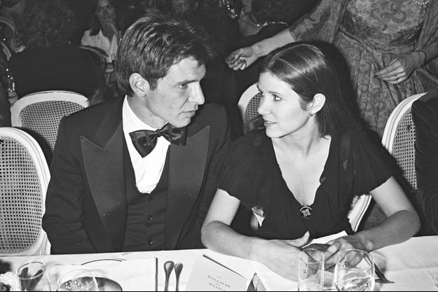 Harrison Ford et Carrie Fisher