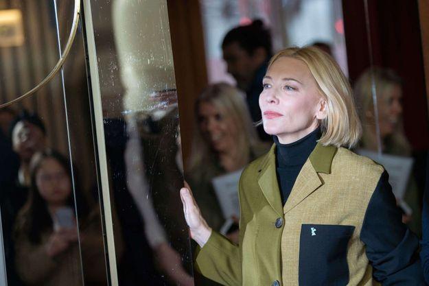 Cate Blanchett à Berlin, le 26 février 2020.