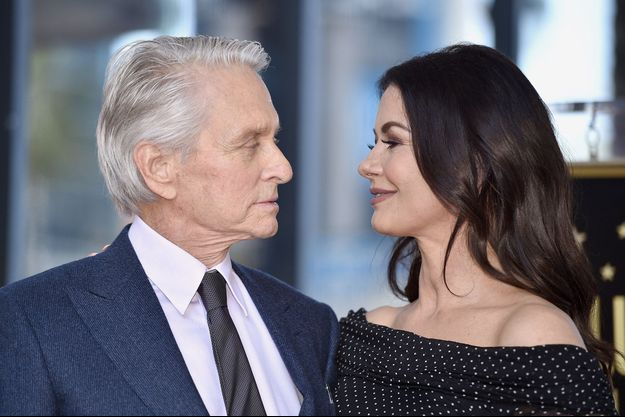 Catherine Zeta-Jones et Michael Douglas à Los Angeles, le 6 novembre 2018