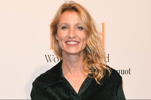 Alexandra Lamy à Paris en novembre 2019.