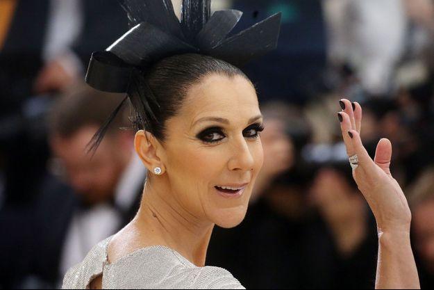 Céline Dion au Met Gala de New York, le 2 mai 2017.