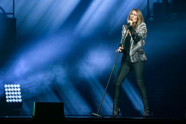 Céline Dion le 17 juin 2017 à Stockholm.