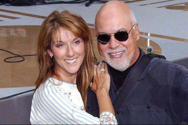 Céline Dion et René Angélil en 2003.