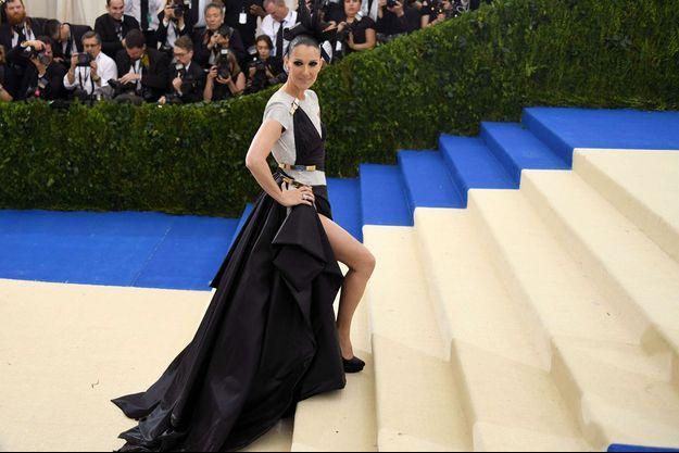 Céline Dion au MET Gala 2017.