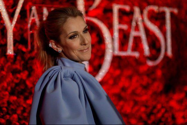 Céline Dion en mars 2017.