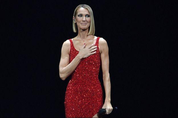 Céline Dion à Miami le 17 janvier 2020.