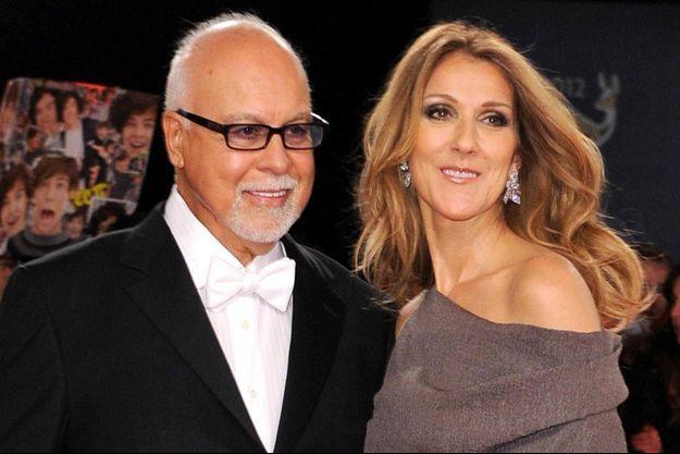 Céline Dion et René Angélil en 2012.