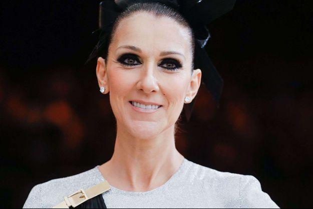 Céline Dion en mai 2017.