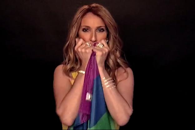 Céline Dion, son message d'amour à la communauté LGBT.
