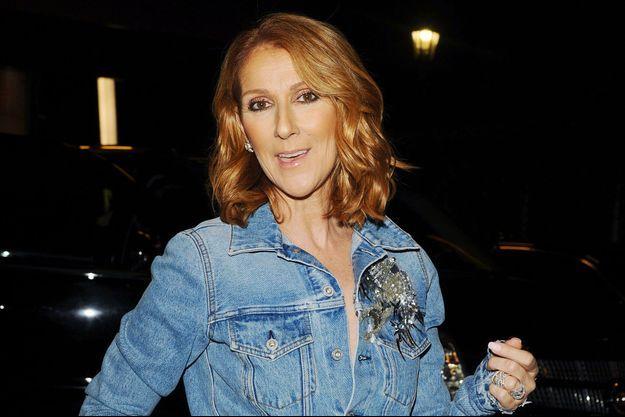 Céline Dion à Los Angeles en septembre 2016