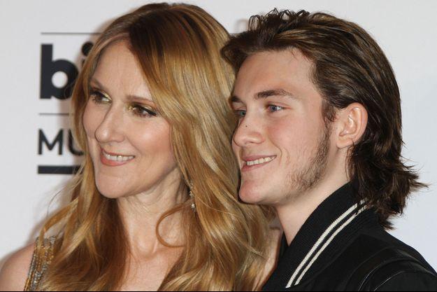 Céline Dion et René Charles en mai 2016.