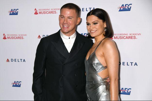 Channing Tatum et Jessie J à Los Angeles vendredi soir.
