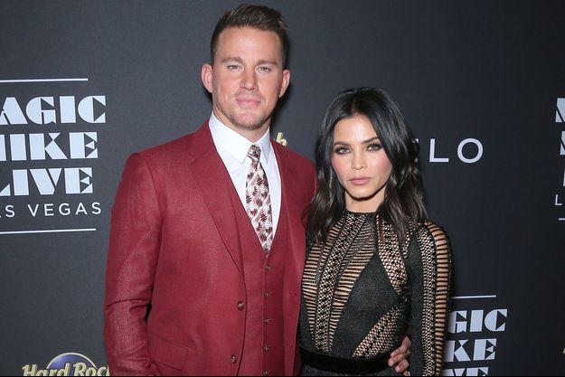 """Channing Tatum et Jenna Dewan à la soirée d'inauguration du spectacle """"Magic Mike Live"""" à Las Vegas, le 21 avril 2017"""