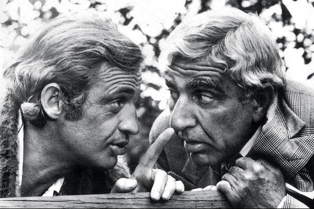 Jean-Paul Belmondo et Charles Gérard.
