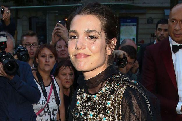 Charlotte Casiraghi à Paris, en juillet 2016.