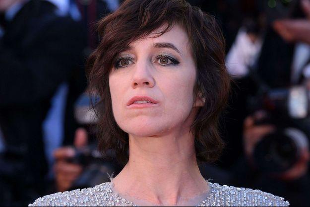 Charlotte Gainsbourg à Cannes en mai 2017.