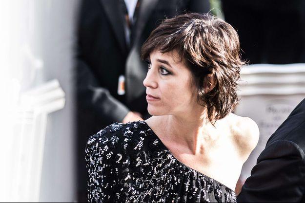 Charlotte Gainsbourg à Cannes 2017.