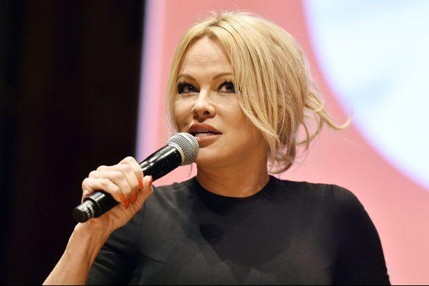 Pamela Anderson en 2019.