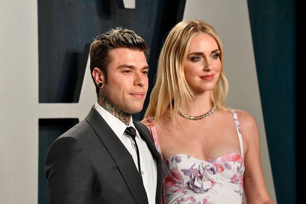 Fedez et Chiara Ferragni en février 2020 à Beverly Hills.