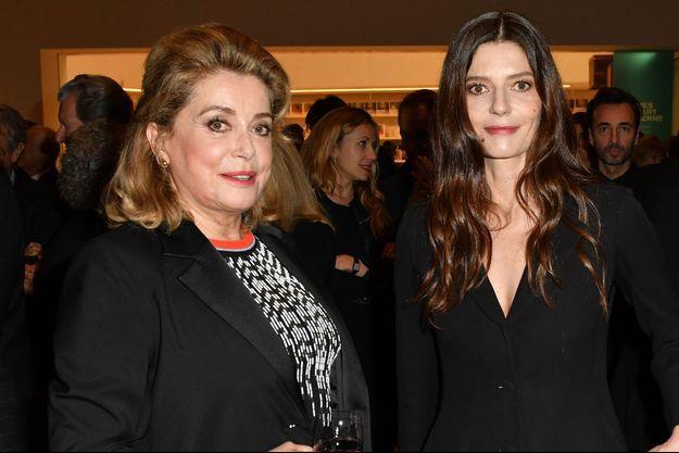 Catherine Deneuve et sa fille Chiara Mastroianni