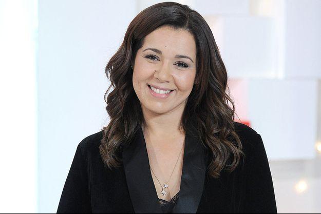 """Chimène Badi en janvier 2020 sur le plateau de l'émission """"Vivement dimanche"""""""