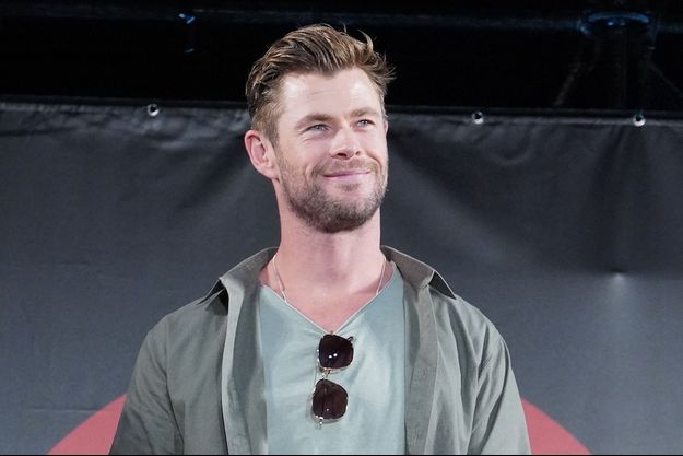 Chris Hemsworth au Japon en novembre 2019.