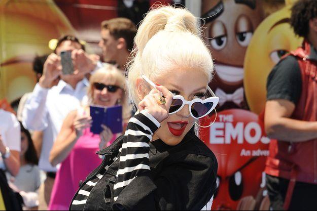 Christina Aguilera en 2016.