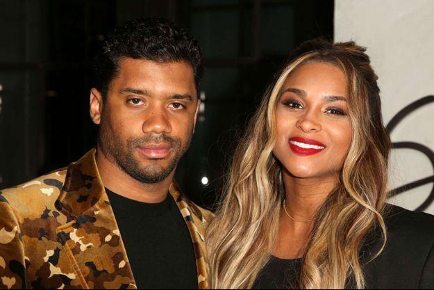 Ciara et son mari Russell Wilson