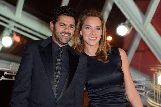 Jamel Debbouze et Mélissa Theuriau au Festival de Marrakech en 2013