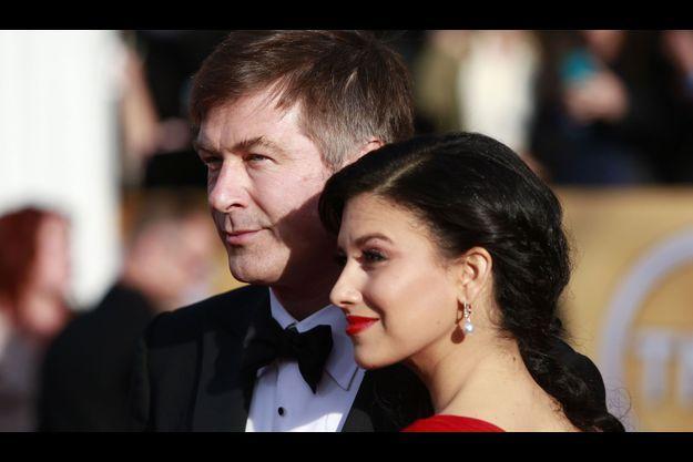 Alex Baldwin et son épouse Hilaria.