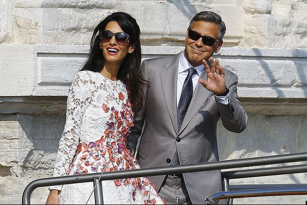 Lune de miel anglaise pour Amal et George Clooney