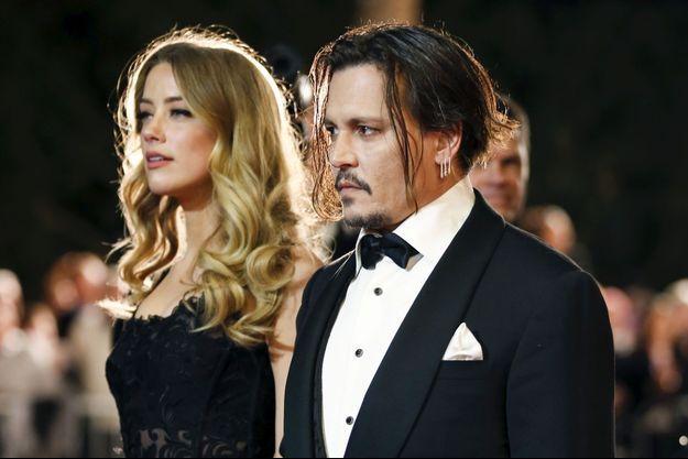 Johnny Depp et Amber Heard en Californie, janvier 2016