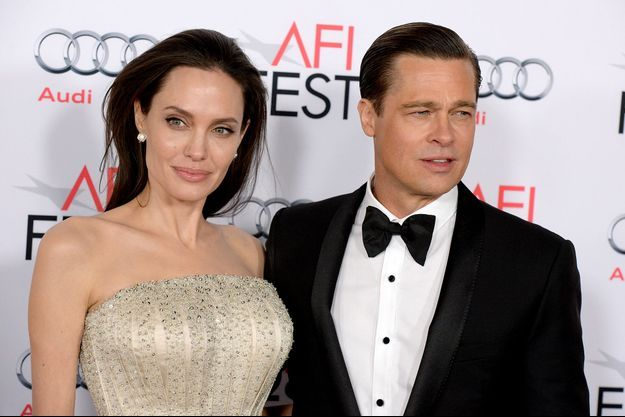 Angelina Jolie et Brad Pitt à Los Angeles le 15 novembre dernier.
