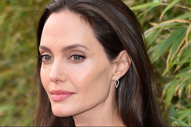 """Angelina Jolie à l'avant-première de """"Kung-Fu Panda 3"""" en 2016."""