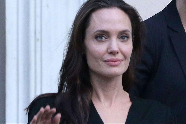 Angelina Jolie, en mars 2016.
