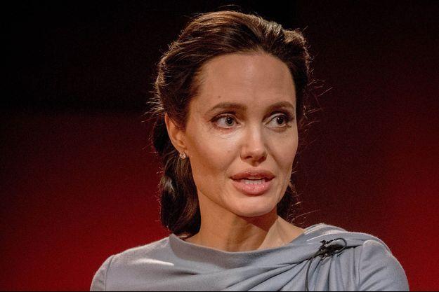 Angelina Jolie, à la BBC, le 16 mai 2016.