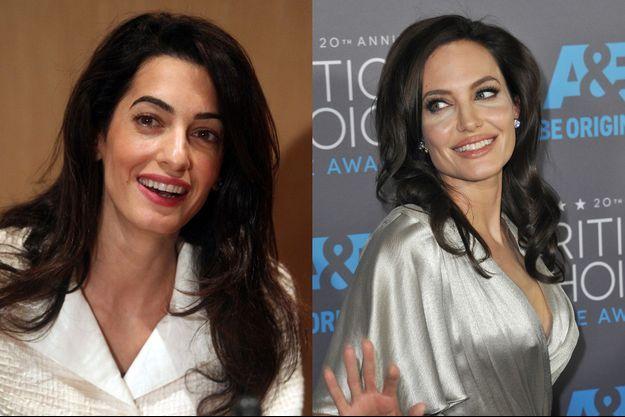 Angelina Jolie et Amal Clooney : une amitié impossible, selon la rumeur du moment