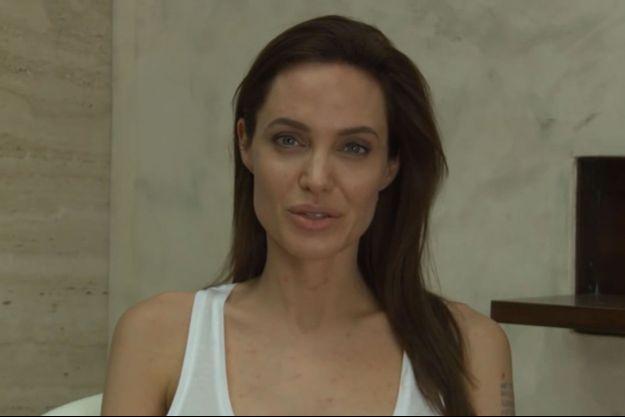 Angelina Jolie a la varicelle.